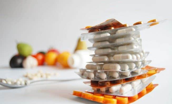 píldoras y suplementos