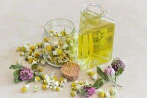 aceite de hierbas