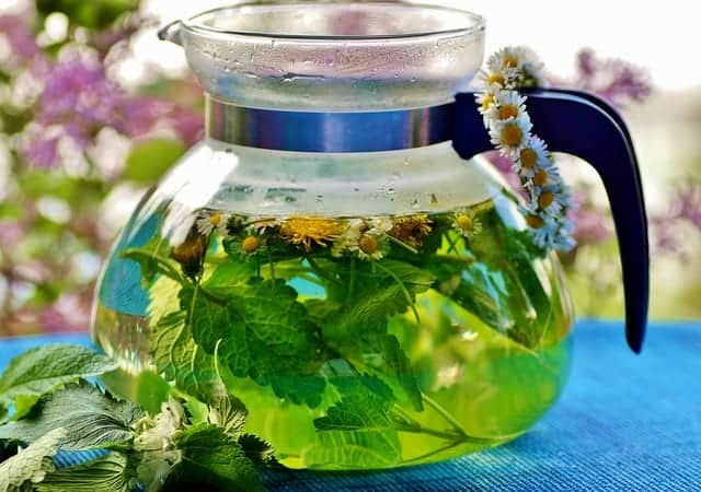 té de hierbas para la pérdida de peso