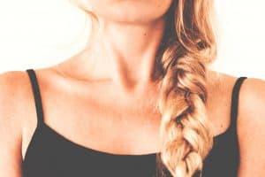 trenza, corte de pelo
