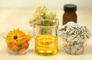 aceites, hierbas