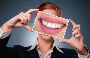 sonrisa, dientes blancos