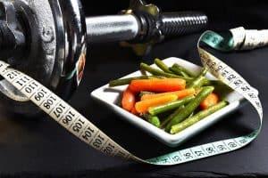 Hantle, miara, warzywa, odchudzanie