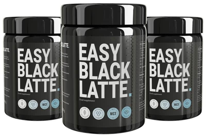 caffè per perdere peso Easy Black Latte