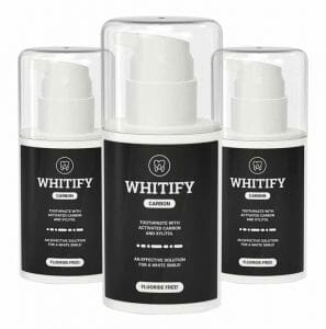 whitify carbon pasta de blanqueo dental