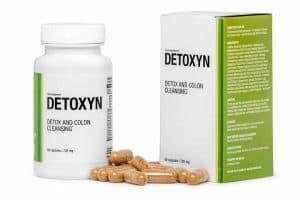 Detoxyn tabletas para limpiar el cuerpo de toxinas