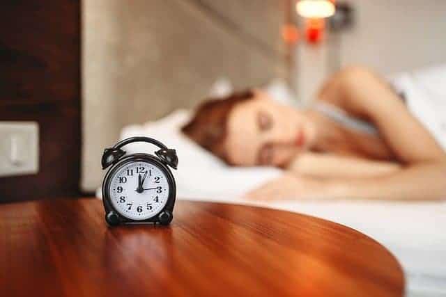 mujer durante el sueño